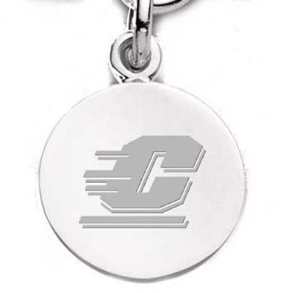 Central Michigan Sterling Silver Charm