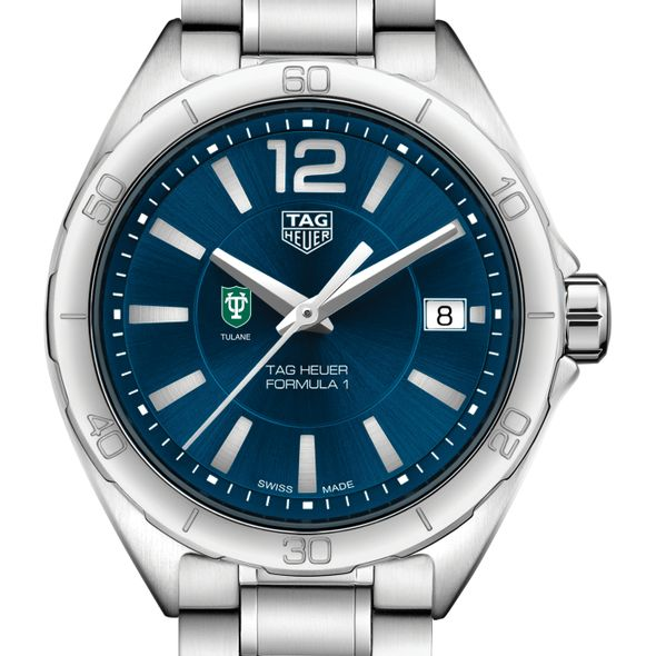 Tulane University Women's TAG Heuer Formula 1 with Blue Dial