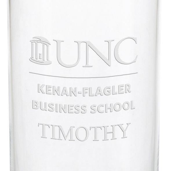 UNC Kenan-Flagler Iced Beverage Glasses - Set of 4 - Image 3