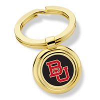 Boston University Enamel Key Ring