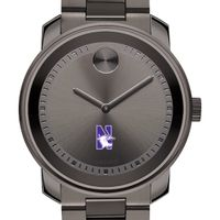 Northwestern Men's Movado BOLD Gunmetal Grey