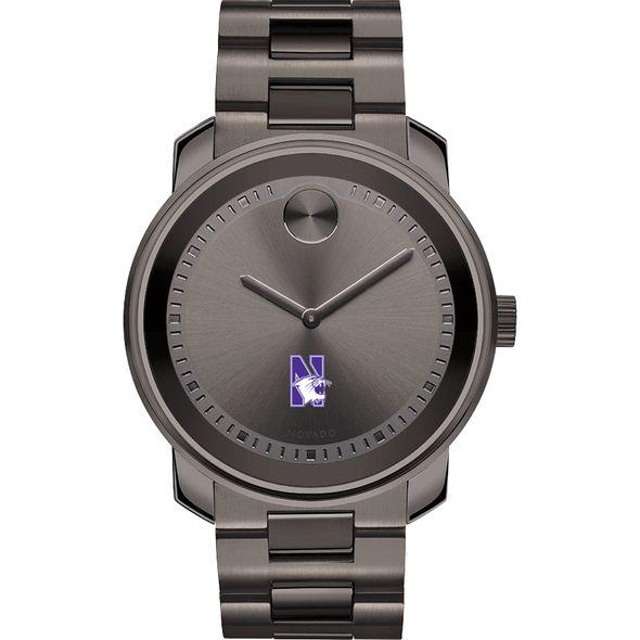 Northwestern Men's Movado BOLD Gunmetal Grey - Image 2