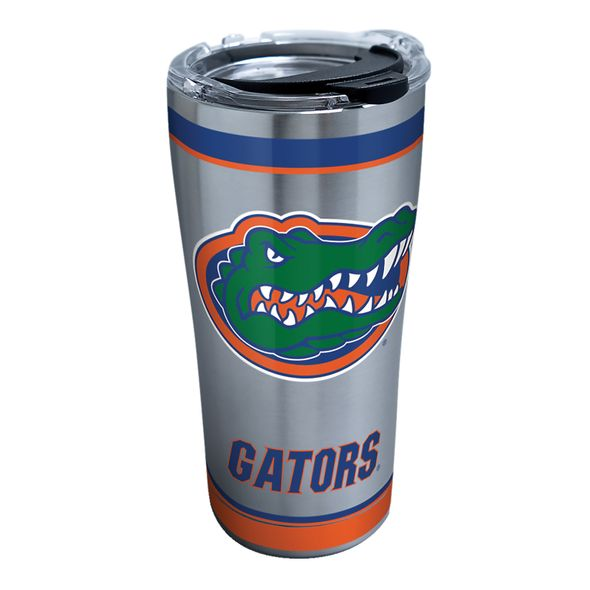Florida 20 oz. Stainless Steel Tervis Tumblers with Hammer Lids - Set of 2 - Image 1
