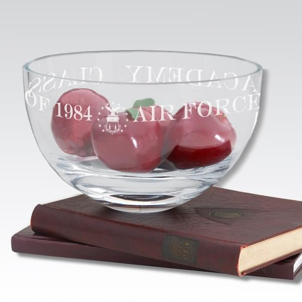 "USAFA 10"" Glass Celebration Bowl - Image 2"