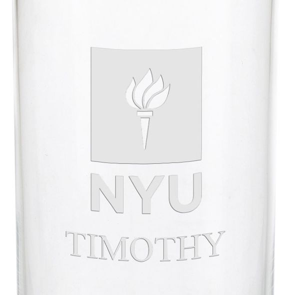 New York University Iced Beverage Glasses - Set of 2 - Image 3