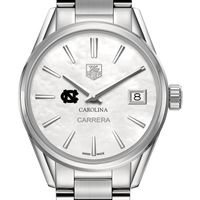 University of North Carolina Women's TAG Heuer Steel Carrera with MOP Dial