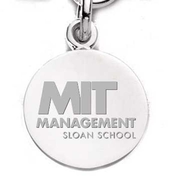 MIT Sloan Sterling Silver Charm - Image 1