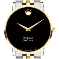 Texas McCombs Men's Movado Two-Tone Museum Classic Bracelet