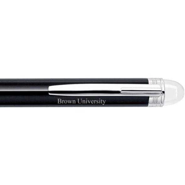 Brown University Montblanc StarWalker Ballpoint Pen in Platinum - Image 2