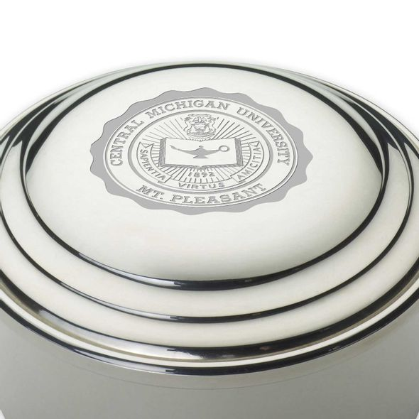 Central Michigan Pewter Keepsake Box - Image 2