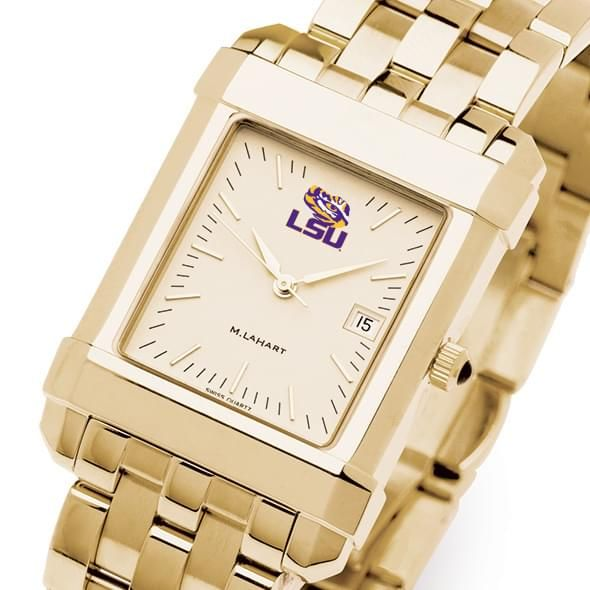 LSU Men's Gold Quad with Bracelet - Image 1
