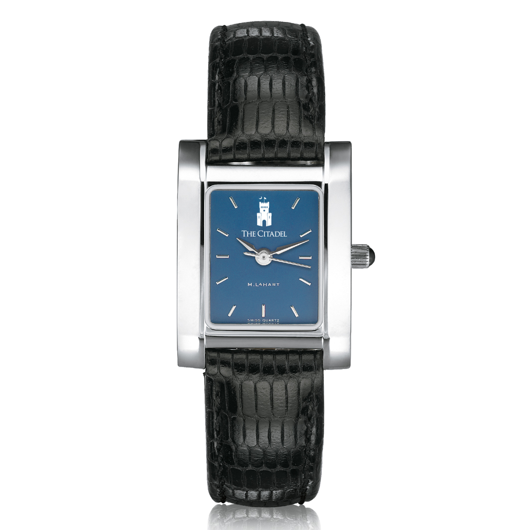 Citadel Women's Blue Quad Watch with Leather Strap - Image 2