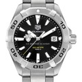 US Military Academy Men's TAG Heuer Steel Aquaracer with Black Dial - Image 1