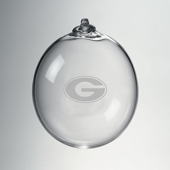 Georgia Glass Ornament by Simon Pearce