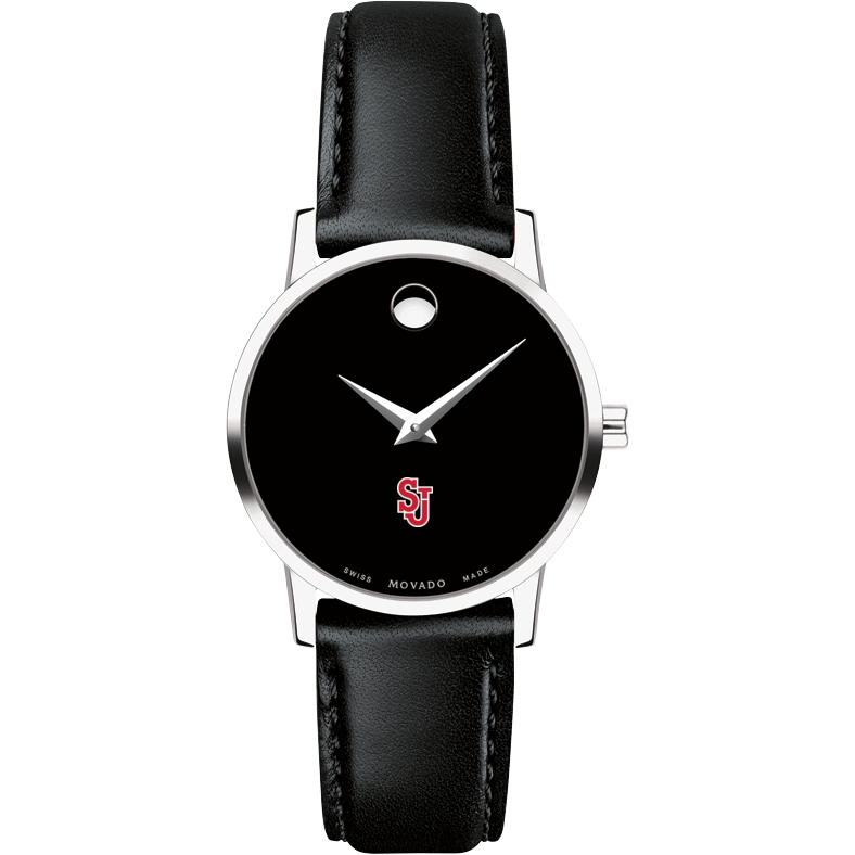 St. John's Women's Movado Museum with Leather Strap - Image 2