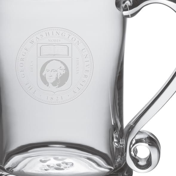 George Washington Glass Tankard by Simon Pearce - Image 2