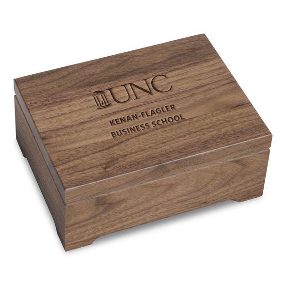 UNC Kenan-Flagler Solid Walnut Desk Box