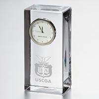Coast Guard Academy Tall Desk Clock by Simon Pearce