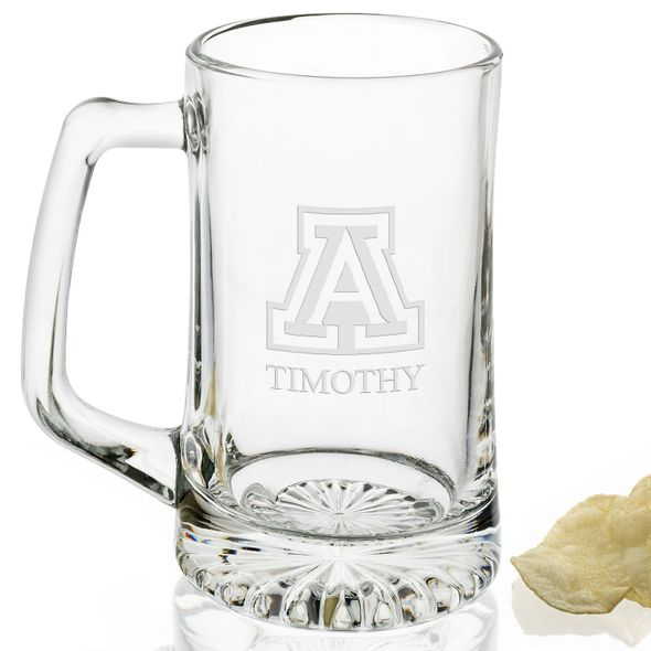 University of Arizona 25 oz Beer Mug - Image 2