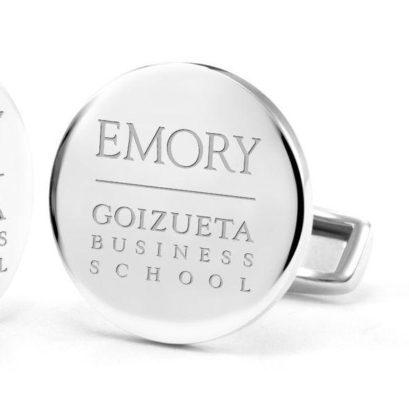 Emory Goizueta Cufflinks in Sterling Silver - Image 2