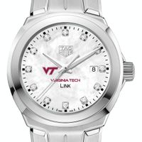 Virginia Tech TAG Heuer Diamond Dial LINK for Women