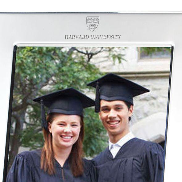 Harvard Polished Pewter 5x7 Picture Frame - Image 2