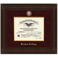 Boston Excelsior Diploma Frame
