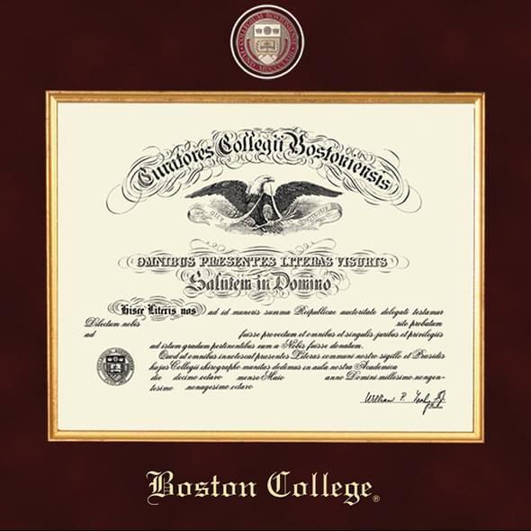 Boston Excelsior Diploma Frame - Image 2