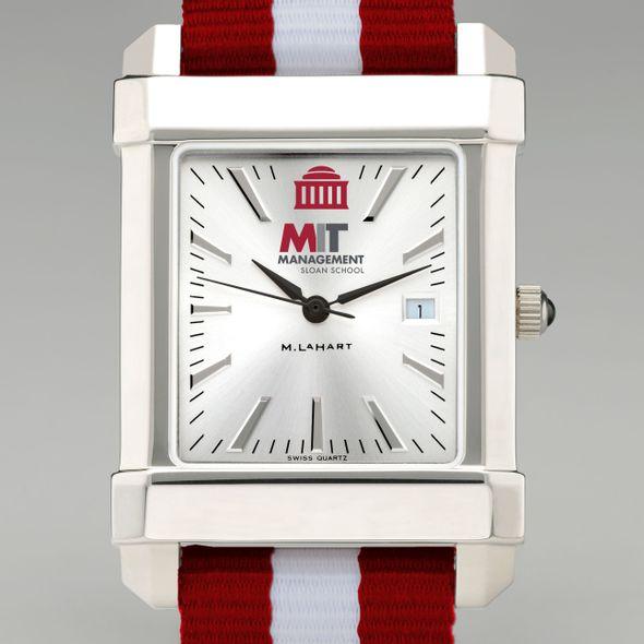 MIT Sloan Collegiate Watch with NATO Strap for Men - Image 1