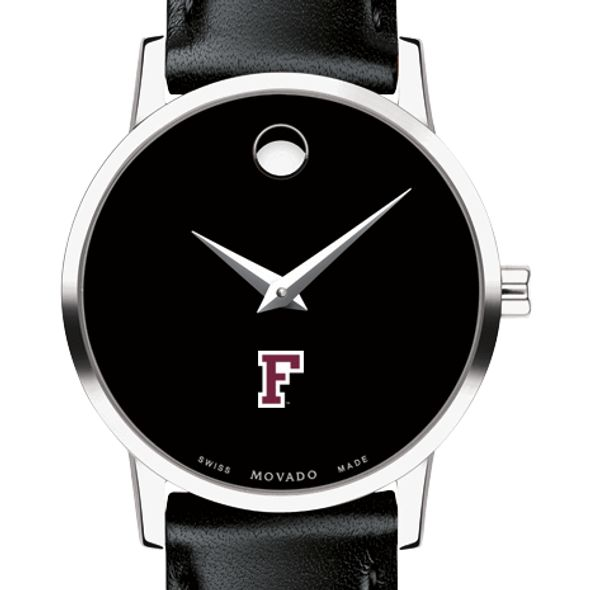 Fordham Women's Movado Museum with Leather Strap