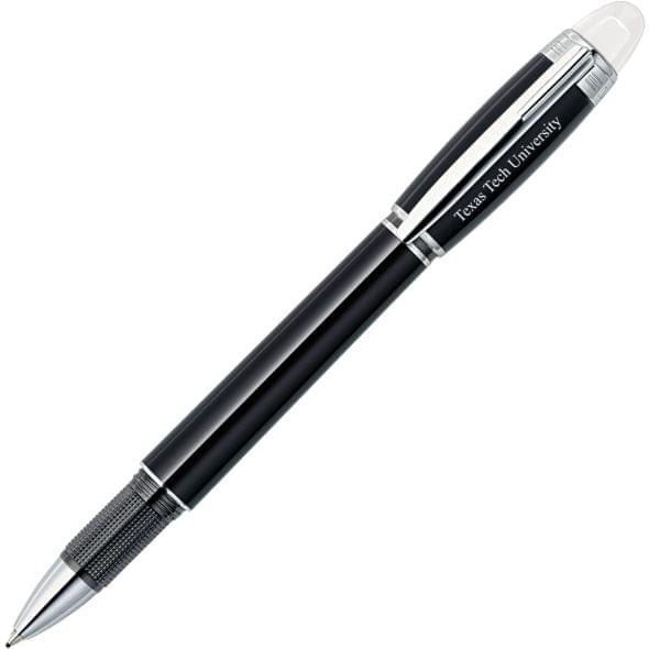 Texas Tech Montblanc StarWalker Fineliner Pen in Platinum