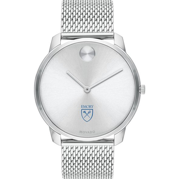 Emory University Men's Movado Stainless Bold 42 - Image 2