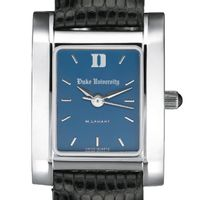 Duke Women's Blue Quad Watch with Leather Strap
