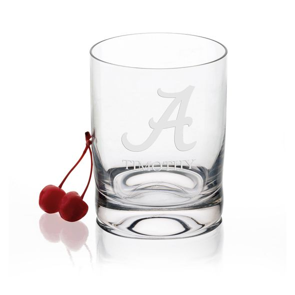 University of Alabama Tumbler Glasses - Set of 4