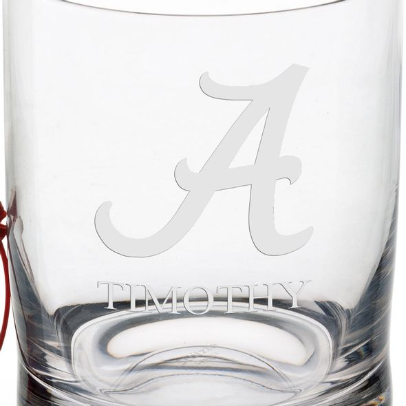 University of Alabama Tumbler Glasses - Set of 4 - Image 3