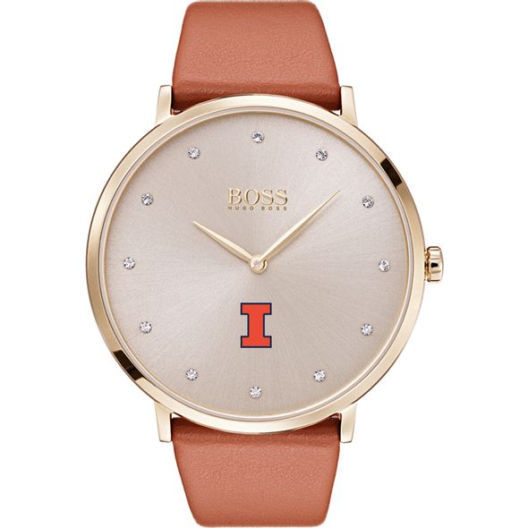 University of Illinois Women's BOSS Champagne with Leather from M.LaHart - Image 2