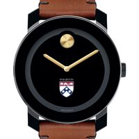 Wharton Men's Movado BOLD with Brown Leather Strap