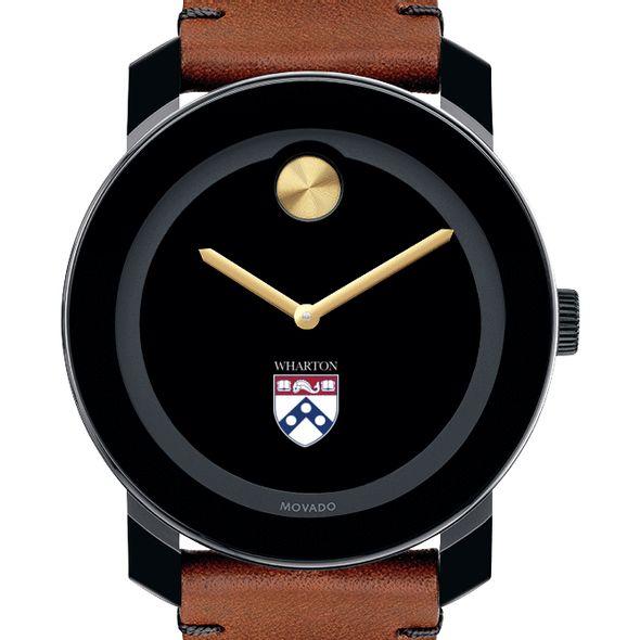 Wharton Men's Movado BOLD with Brown Leather Strap