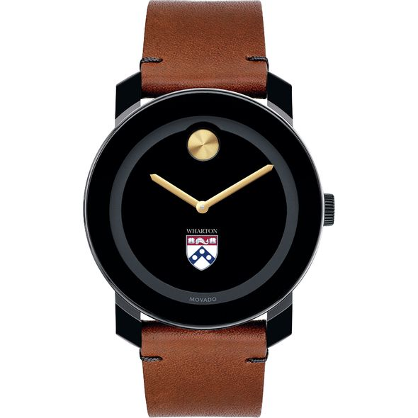 Wharton Men's Movado BOLD with Brown Leather Strap - Image 2