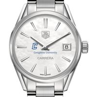 Creighton Women's TAG Heuer Steel Carrera with MOP Dial