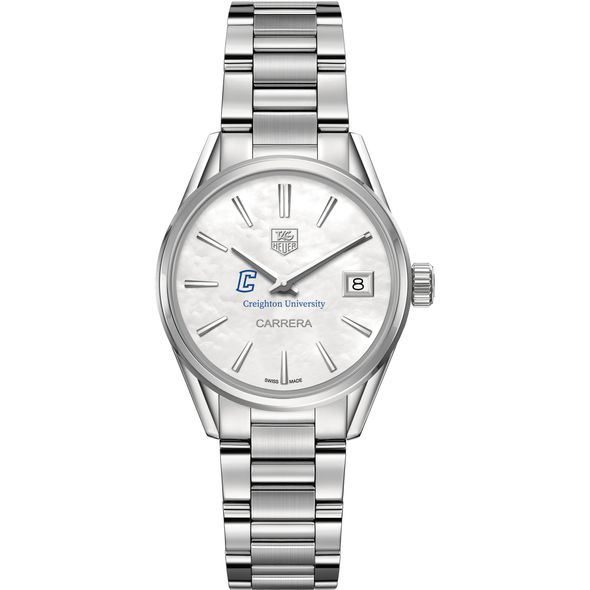 Creighton Women's TAG Heuer Steel Carrera with MOP Dial - Image 2