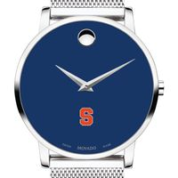 Syracuse University Men's Movado Museum with Blue Dial & Mesh Bracelet