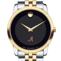 Alabama Men's Movado Two-Tone Museum Classic Bracelet