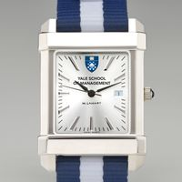 Yale SOM Collegiate Watch with NATO Strap for Men