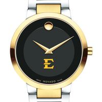 East Tennessee State University Men's Movado Two-Tone Modern Classic Museum with Bracelet