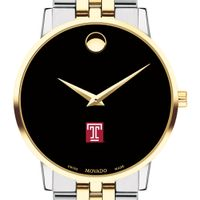 Temple Men's Movado Two-Tone Museum Classic Bracelet