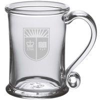 Rutgers University Glass Tankard by Simon Pearce