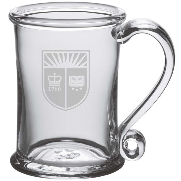 Rutgers University Glass Tankard by Simon Pearce