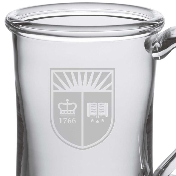 Rutgers University Glass Tankard by Simon Pearce - Image 2