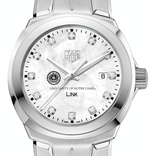 University of Notre Dame TAG Heuer Diamond Dial LINK for Women